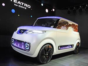 Nissan Teatro For Dayz, un smartphone sobre ruedas