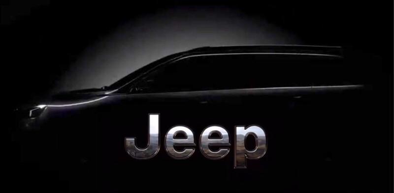 Video: el nuevo Jeep de 7 asientos se llamará Commander