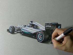 Video: Mercedes da un anticipo del nuevo W07