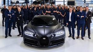 Bugatti Chiron celebra 250 unidades producidas