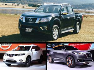 Nissan Frontier, nueva X-Trail y Kicks concept al Salón de BA