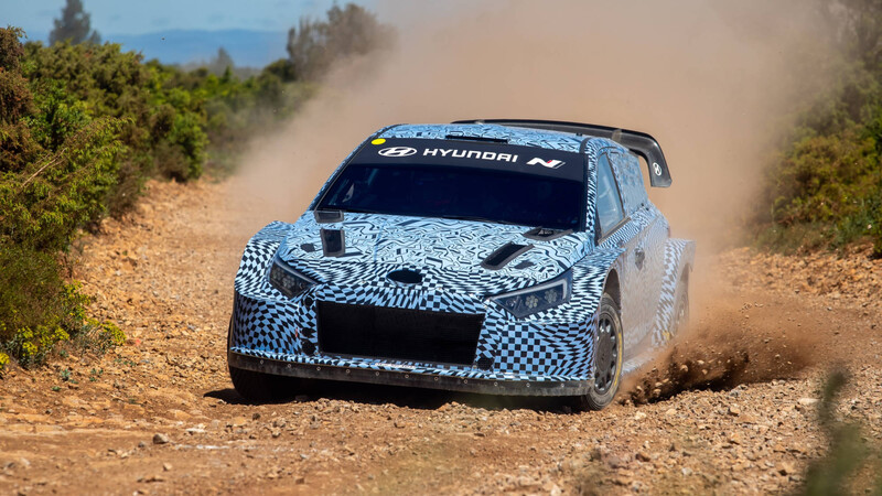 Las marcas ya prueban sus WRC híbridos para 2022