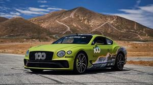 Bentley Continental GT apunta sus 635 Hp al cielo