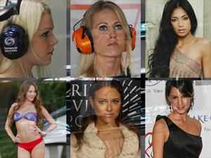 Las novias de la F1