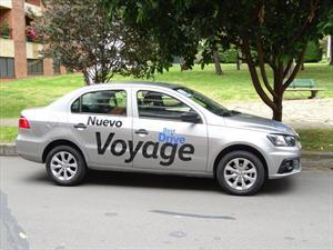 Volkswagen Voyage 2017, a prueba