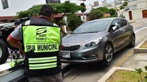 Los autos que circulen sin autorización serán secuestrados.
