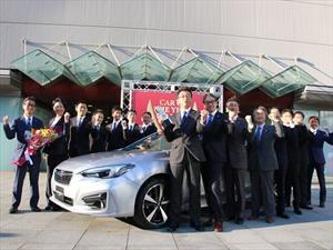Subaru Impreza 2017 gana el premio al Auto del Año 2016-2017 en Japón