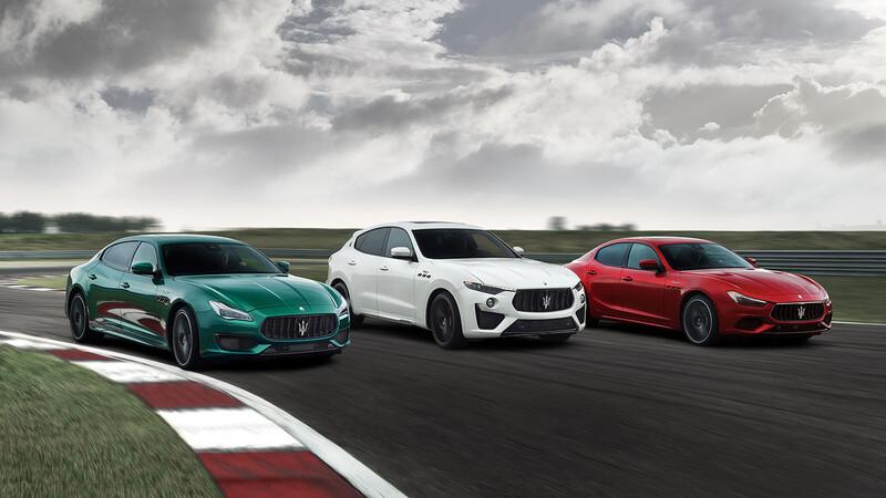 Maserati Quattroporte y Ghibli Trofeo 2021, autos de lujo con motores Ferrari