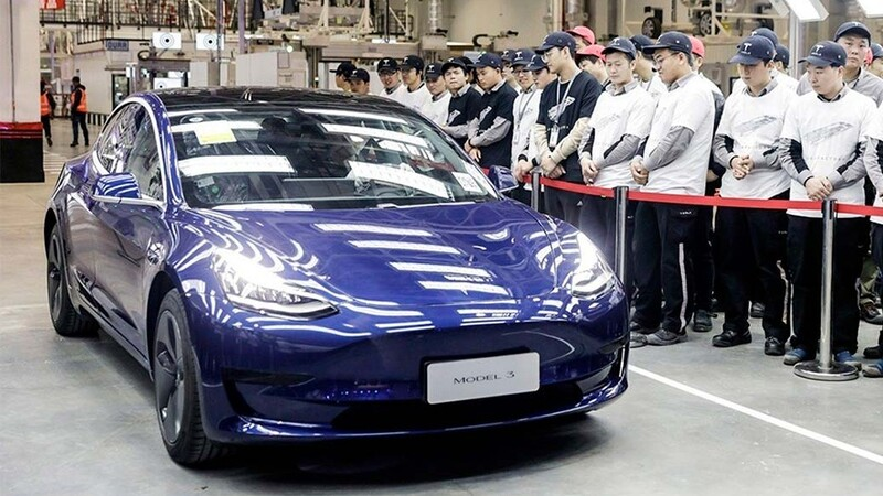 Tesla venderá en Europa el Model 3 fabricado en China