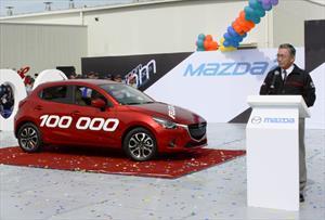 Mazda produce su unidad 100,000 en México