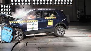 Volkswagen T-Cross gana 5 estrellas en pruebas de choque de Latin NCAP