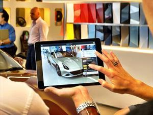 Ferrari tiene una app de realidad aumentada en sus distribuidores