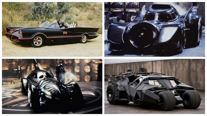 Conocé la historia del Batimóvil de la mano de Warner Bros