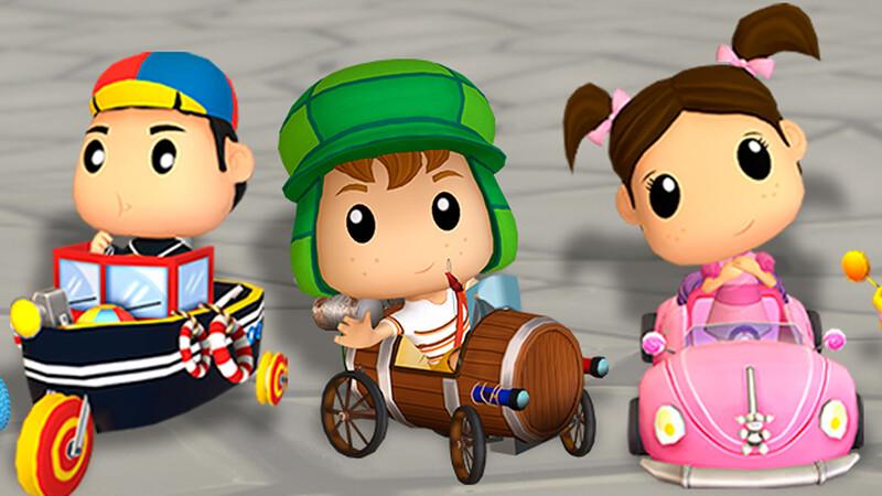 El Chavo Kart, el juego mexicano que celebra a Chespirito a toda velocidad