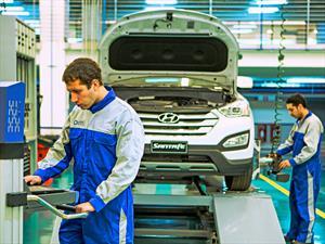 Hyundai lanza en Chile Quick Service: Servicio de mantención en una hora