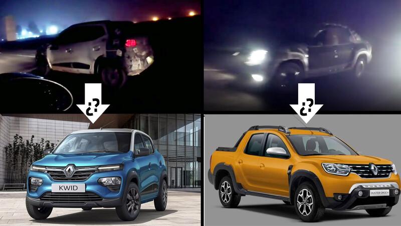 Sin miedo a la oscuridad: Renault prueba en Brasil las actualizaciones de Duster Oroch y Kwid
