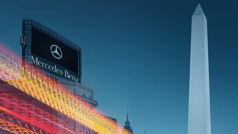 Mercedes-Benz celebra 70 años de presencia en Argentina