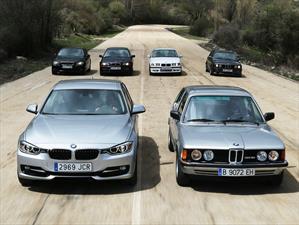 BMW Serie 3 y sus seis generaciones