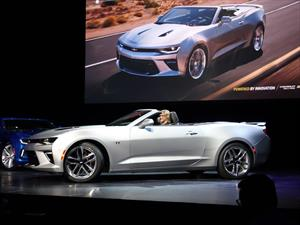 Chevrolet Camaro Convertible 2016, uno de los deportivo más ansiados