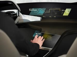 HoloActive Touch, la pantalla virtual de BMW