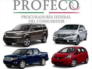 Honda llama a revisión a 13,819 vehículos en México