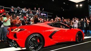 Chevrolet Corvette 2020 #1 es subastado en más de $50 millones de pesos