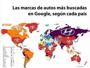 Este es el mapa de los autos más googleados del 2016