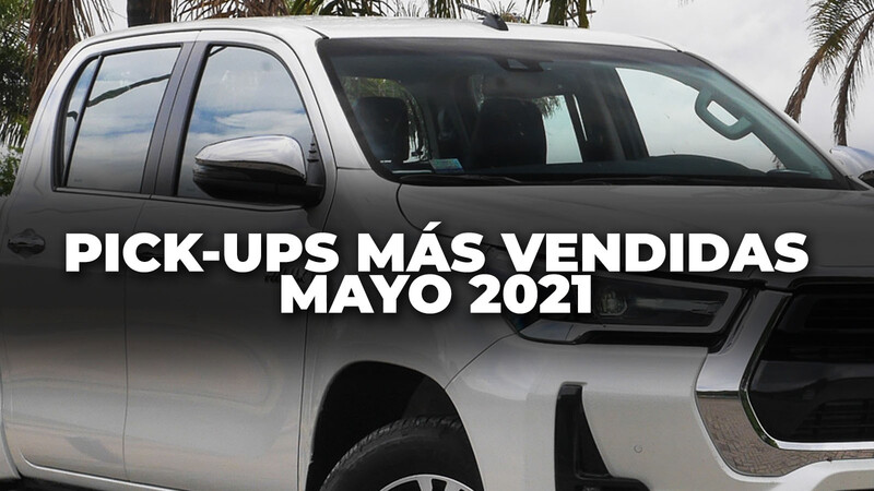 Top 10: Las pick-ups más vendidas de Argentina en mayo de 2021