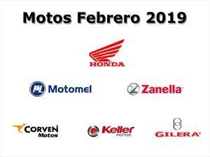 Top 10: Las marcas de motos que más vendieron en febrero 2019