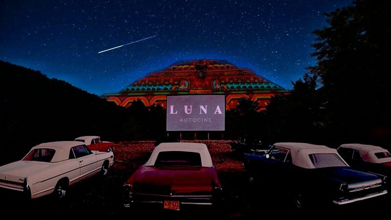 Luna Autocine, un nuevo autocinema en Teotihuacán