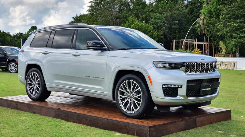 Probando la Jeep Grand Cherokee L 2022