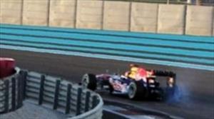 F1 GP de Abu Dhabi, abandonó el campeón