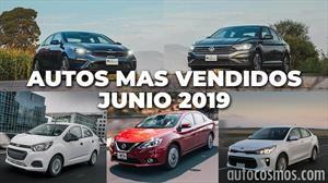 Los 10 autos más vendidos en junio 2019