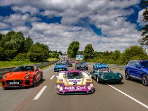 Jaguar destaca en Le Mans Classic 2016