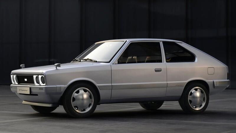 Hyundai revela una versión modificada del Pony original con tren motriz eléctrico