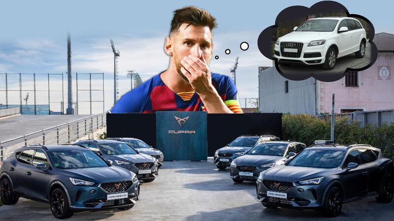 CUPRA realizó la entrega de autos a los jugadores del FC Barcelona