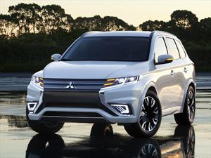 Mitsubishi Outlander PHEV Concept S, con mucha tecnología