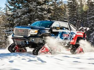 GMC Sierra 2500HD All Mountain Concept, exclusivo para rodar en la nieve