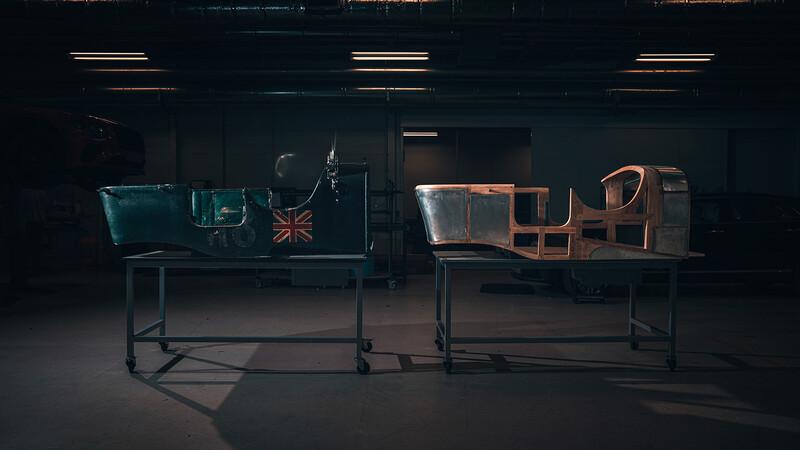 Bentley Blower Continuation Series, primeras imágenes del ensamblado