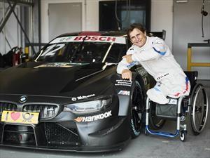 Alex Zanardi manejará en el DTM sin sus piernas protésicas