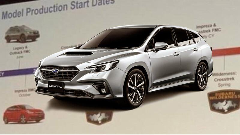 Estos son los autos que lanzará Subaru hasta el 2024