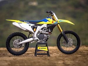 Suzuki Motos renueva su gama de motocross