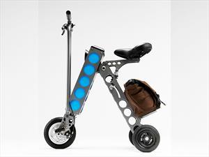 URB-E, un scooter eléctrico plegable