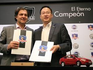 Colo Colo recibe a Morris Garages como auspiciador principal del equipo