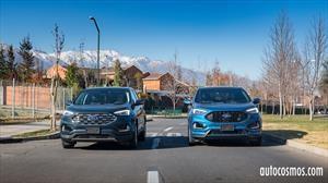 Test Drive Ford Edge 2019, SEL AWD y ST frente a frente