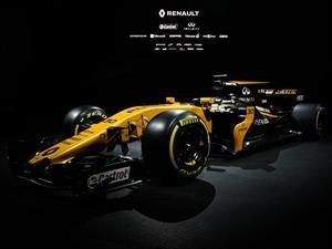 F1: Renault develó el RS17 para la temporada 2017