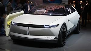 Hyundai 45 EV Concept, un tributo lleno de electricidad