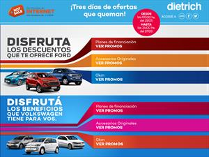 Dietrich dice presente en el Hot Sale 2015