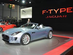 Jaguar F-Type se presenta en el Salón de París 2012