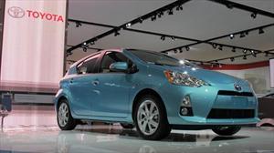 Toyota  Prius C 2012 debuta en el Salón de Detroit